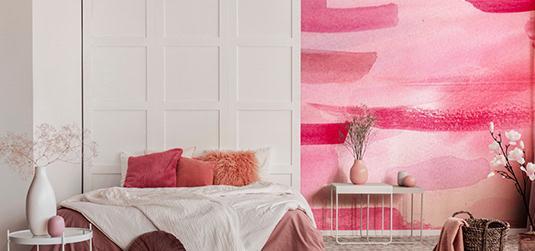 Les aquarelles pour votre décoration d'intérieur - une recette pour une décoration colorée