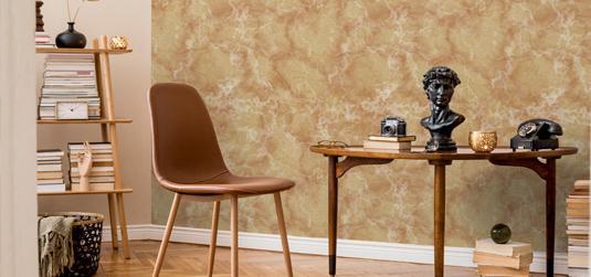 Vous êtes à la recherche d'un papier peint luxueux ? Le marbre est l'un des motifs les plus intéressants !