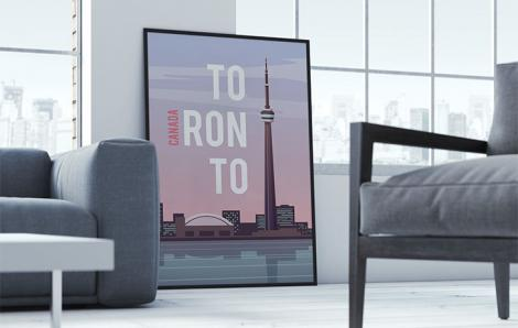 Poster modernes pour le salon
