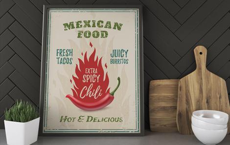 Poster pour cuisine